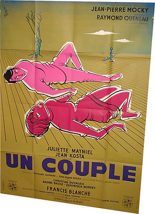 AFFICHE FILM de MOCKY Un Couple 1960 par JAN MARA