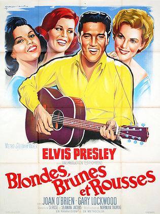 Elvis PRESLEY - BLONDES BRUNES et ROUSSES par SOUBIE 1964
