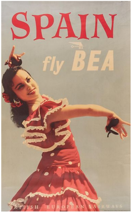 Elfer - Spain fly by Bea - 1964