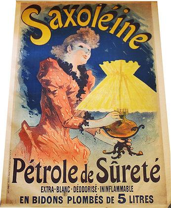 CHERET - SAXOLEINE petrole de sureté 1891