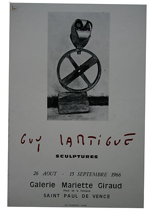 Guy LARTIGUES - Sculptures - 1966