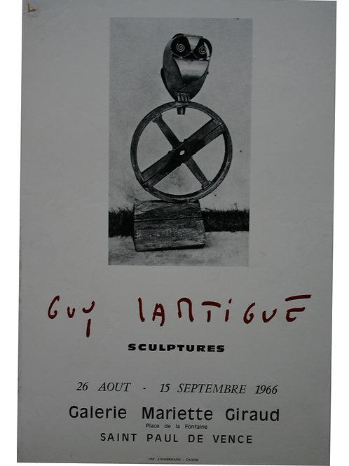 Guy LARTIGUES - Sculptures - 1966