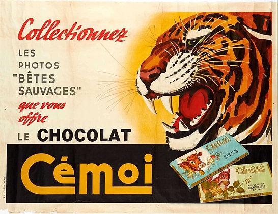 Affiche CHOCOLAT CEMOI  c.1950