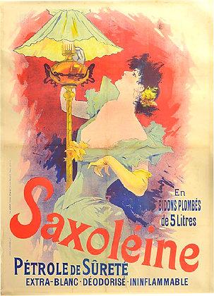 Jules CHERET Saxoleine pétrole de sureté 1892