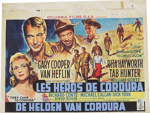 """affiche """"les héros de Cordura"""" COOPER HAYWORTH - 19595"""