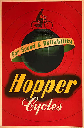 HOPPER CYCLES - For Speed and Reliability 1948