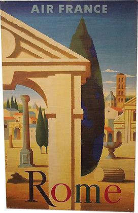 AIR FRANCE - Rome par NATHAN 1959