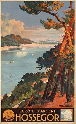 Affiche originale HOSSEGORD par Paul CHAMPSEIX 1937