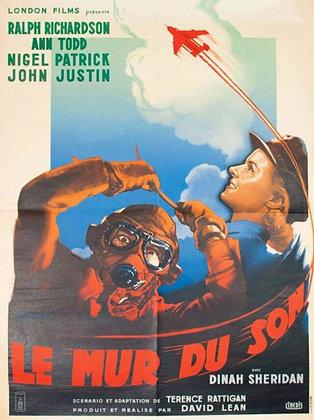 Affiche cinema LE MUR DU SON - 1952