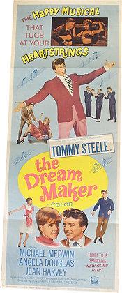 "Affiche music USA ""The dreamaker"" - 1963"