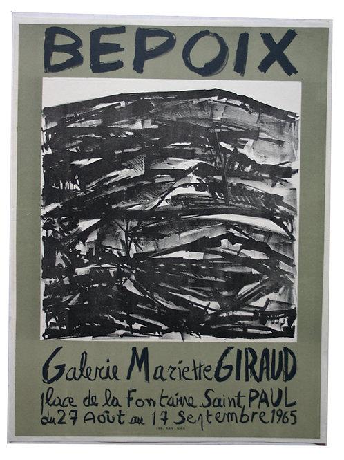 BEPOIX - Galerie Mariette Giraud ABSTRAIT - 1965