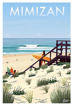 Affiche CLAVE Illustration MIMIZAN