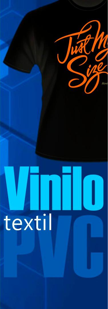 Vinilo textil PVC