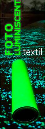 Vinilo textil fotoluminicente