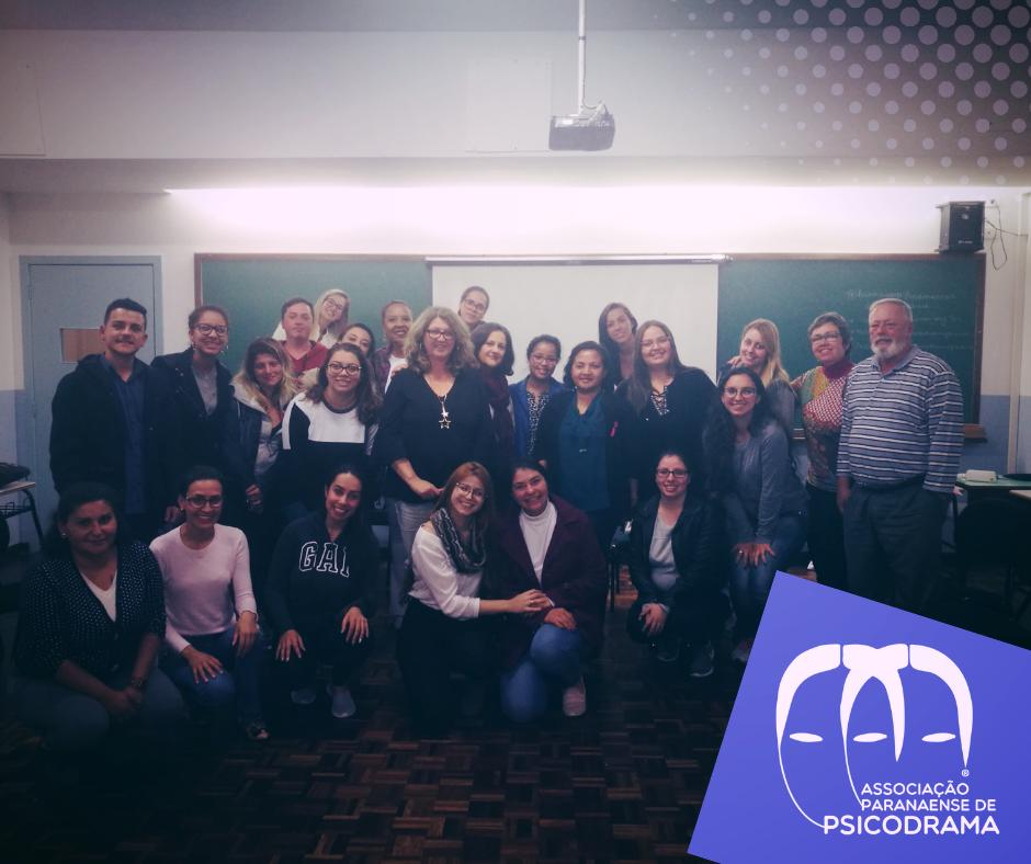 Associação Paranaense de Psicodrama e Alunos do 9º período do Curso de Psicologia da UniBrasil - 2018