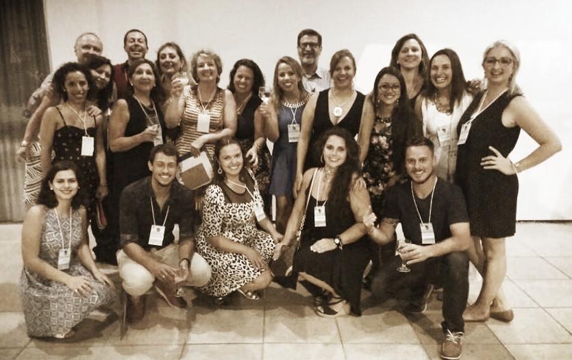 Psicodramatistas da APP durante Congresso Brasileiro