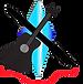 start me up music & art guitar logo