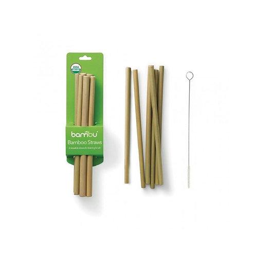 Bamboo Straws | Set of 6