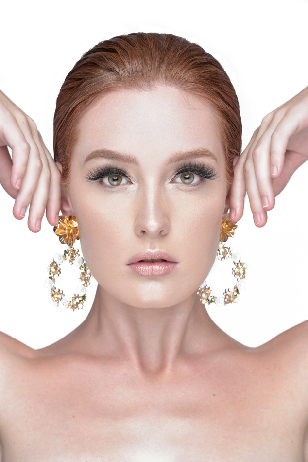 cleo earring campaign
