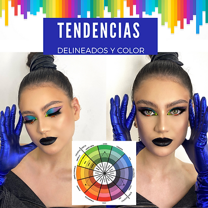 Tendencias, color y delineados