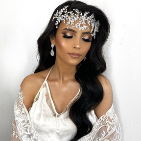Bridal makeup & hair done by me using @d