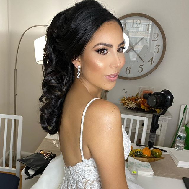 #botd bride of the day #makeupandhair hi