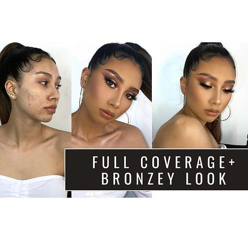 Bronzey smokey + Perfect skin full coverage