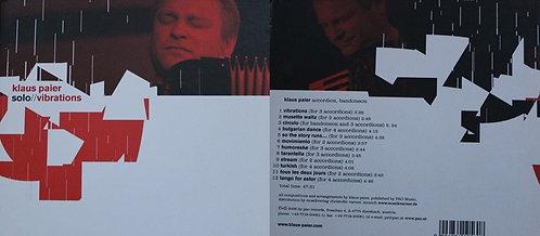 CD - Klaus Paier - Vibrations