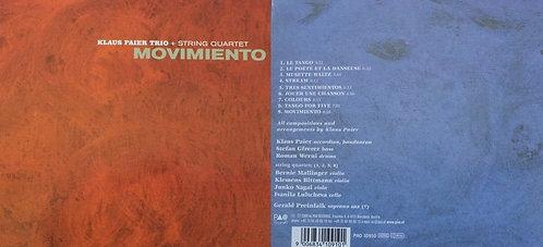 CD - Klaus Paier Trio - Movimiento