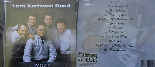 CD - Lars Karlsson Band - 2002