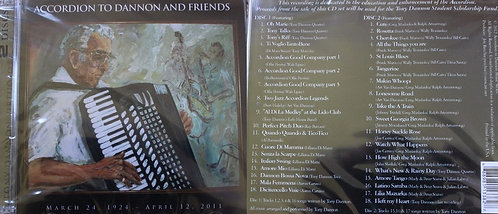 CD - Accordion To Dannon and Friends