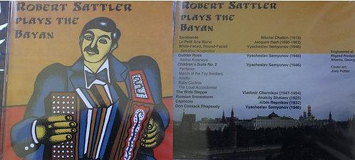 CD - Robert Sattler Plays the Bayan