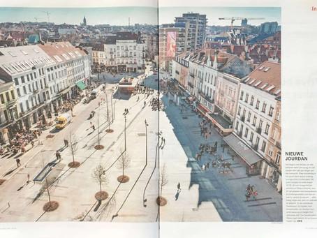 Inauguration of the new 'Place Jourdan / Jourdanplein'