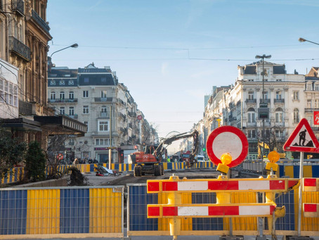 The Brussels Low Line: works around 'Bourse' will start
