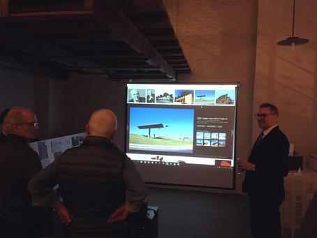 Leo Van Broeck, Flemish Bouwmeester - Governmental Architect, visits Sum