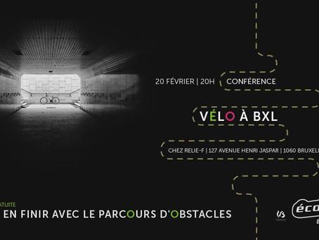 Sum @ 'Vélo à BXL' conference