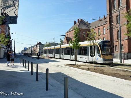 Tram 9 is back in Jette!