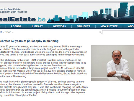 Pro-RealEstate: 'SUM celebrates 50 years of philosophy in planning'