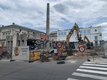 News from the site: Thermal buildings of Spa