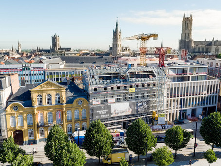 ING Kouter Ghent: news from the construction site