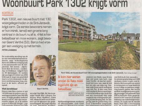 'Park 1302' in 'Het Laatste Nieuws'