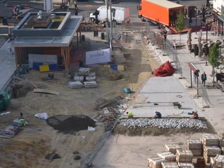 News from the site: Jourdanplein / Place Jourdan