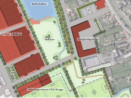 Feasibility study for a new police and fire station in Knokke-Heist