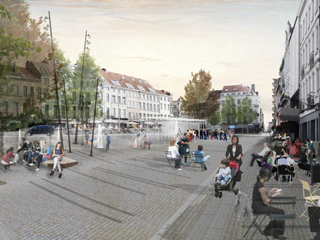 News from the site: Place Jourdan Brussels