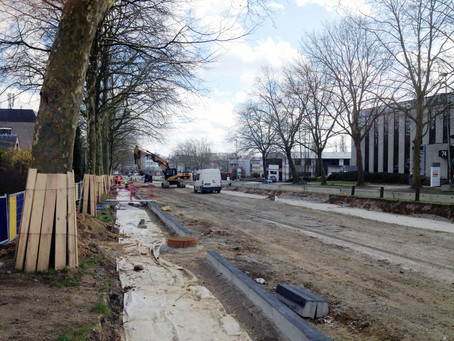 Tram 9 – tramway and public space take shape in Jette