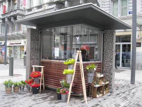 The Brussels Low Line: first kiosk is open!