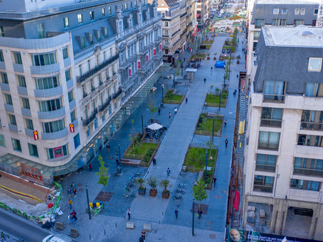 Discover the 'Brussels Low Line' from above