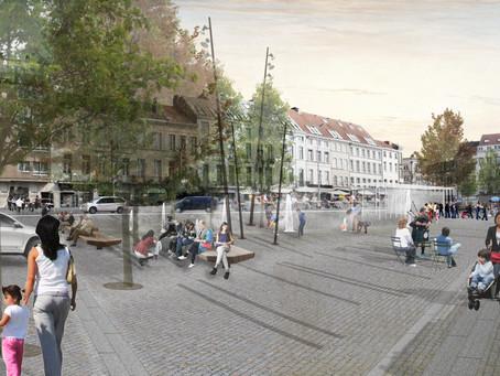 'Place Jourdanplein': works will start in March '17