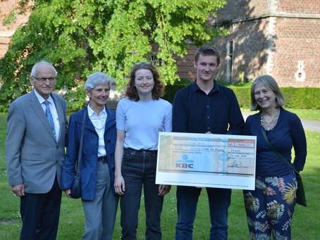 Max wins 'Maarten Bouwen' prize