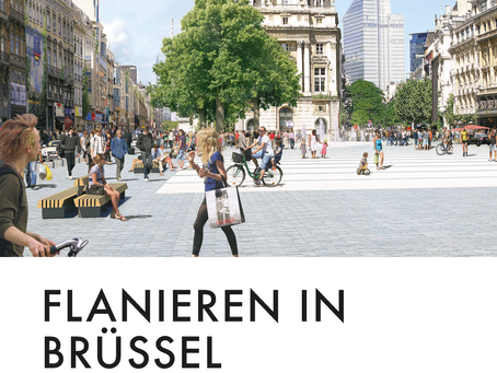 'Flanieren In Brüssel' - Sum in the prestigious 'Garten + Landschaft'